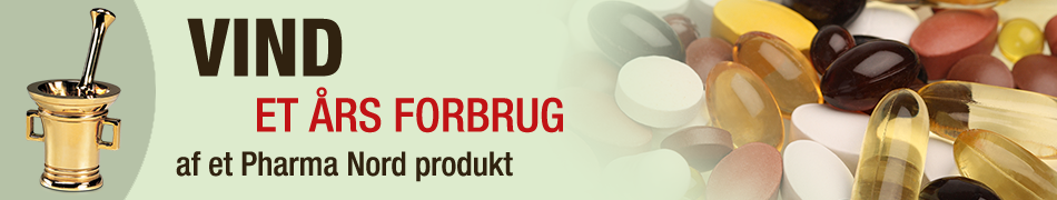 Vind et års forbrug af et Pharma Nord produkt