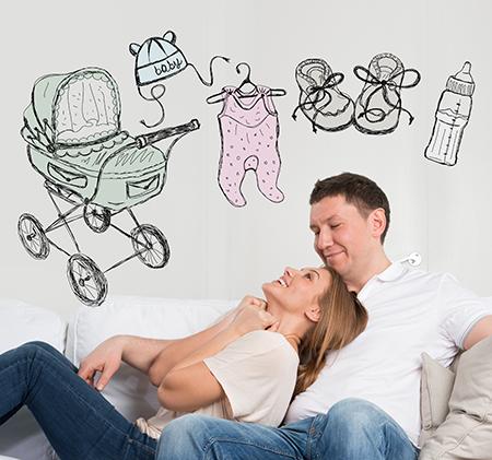 Par som drømmer om å få barn