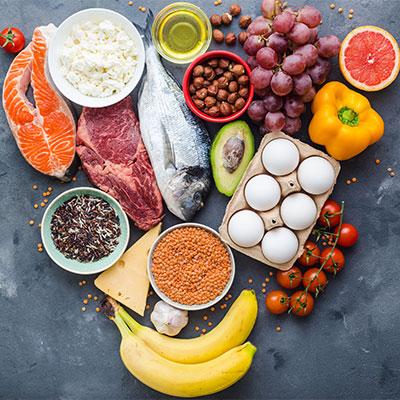 Den beste kilden til vitaminer og mineraler er en sunn og variert kost